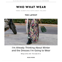 The 24 stunning winter dresses I can't wait to wear