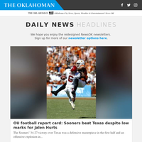 OU football report card: Sooners beat Texas despite low marks for Jalen Hurts