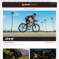 Up to 75% Off: Zoot - New Range | Bestard Footwear | Silva Equipment | Poc Cycling | Autumn Slippers