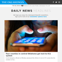 Four counties in central Oklahoma get text-to-911 system