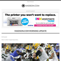 News At This Hour: Tom Oates: Packers set up for NFC North success after hard-fought win over division-rival Lions