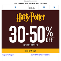 Say Accio! to this Harry Potter sale ✨