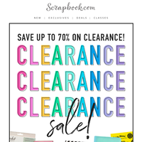 ✨ Our Clearance Sale Is BACK!