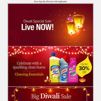 Diwali sale is Live! Save up to 50% off today 😃