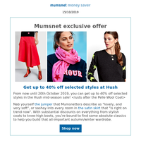 Win a £150 shopping voucher, plus get 40% off your autumn jumpers