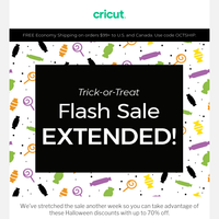 BOO! 👻 We Just Extended Our Flash Sale - Don't Wait!
