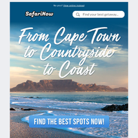 Explore the Western Cape this Summer. From Cape Town to Countryside to Coast. Getaways from R120/night