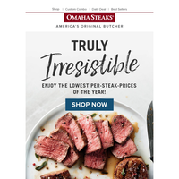 💰 THIS is how you save big with Omaha Steaks...