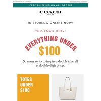 70% Off Everything Has Been Extended! Shop Favorites Under $100 Now