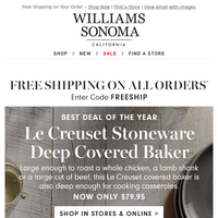 LE CREUSET Sale Now BIGGER + Favorites Under $100