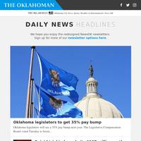 Oklahoma legislators to get 35% pay bump
