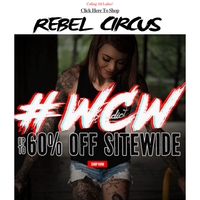 Crushing on You... #WCW Sale up to 60% Off Sitewide