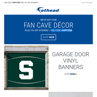 Fan cave fever!