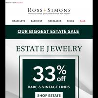 33% Off Rare Luxuries - Vintage Jewelry Sale