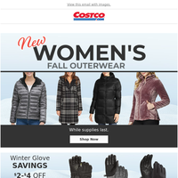 Free Shipping on Select Cold Weather Apparel! Jackets, Flannels and More at Costco.com