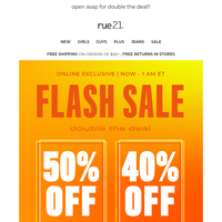 ⚡ 6. HOURS. ONLY | FLASH SALE ⚡