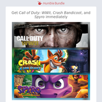 Subscribe for $12/month and get Call of Duty: WWII, Crash Bandicoot, Spyro, and more immediately