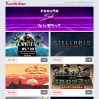 Up to 80% off Paradox games for PDXCON weekend + pre-order The Outer Worlds now!
