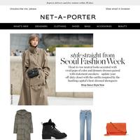 Style inspiration from Seoul Fashion Week