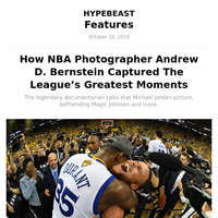 How NBA Photographer Andrew D. Bernstein Captured The League's Greatest Moments