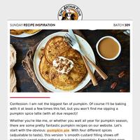 Sunday Recipe Inspiration: Pumpkin spice and everything nice