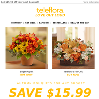 More Bouquet for Your Buck 💰💐