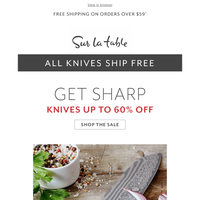 Sharp Deals: Wüsthof, Zwilling, Shun and More