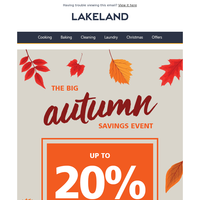Up to 20% OFF your favourite brands