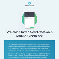 Introducing Our New Mobile Coding Courses for Python