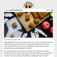 Sunday Recipe Inspiration: DIY Candy