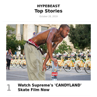 Your Weekly Round-Up: Watch Supreme's 'CANDYLAND' Skate Film Now and More