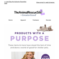 Shop Products With Purpose 💜