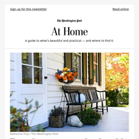 At Home: How to elevate your autumn decor beyond the cliches (no scarecrows or haybales allowed)