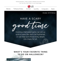 Life's Good News – Halloween at Home