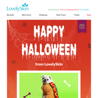 Happy Halloween from LovelySkin!