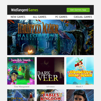 New Games For You - New Spooky Games For You On Halloween, And Don't Miss Our WildCoins Flash Sale This Weekend!