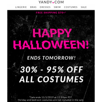 💀Up To 95% OFF All Costumes! Happy Halloween!🎃