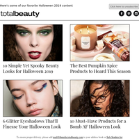 Happy Halloween From the TotalBeauty Team!