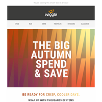 The BIG autumn spend & save