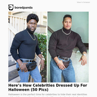 Here's How Celebrities Dressed Up For Halloween (50 Pics)