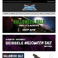 Last Chance on Geissele Halloween Deals | Geissele SSA-E Trigger $179.99 Shipped