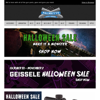 Last Chance on Halloween Deals