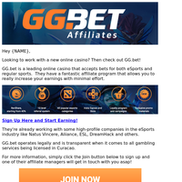 Online Casino & Betting Affiliate Program! (Great Payouts)