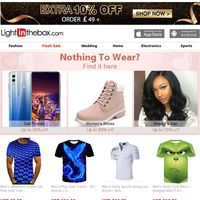 ➤Catch These Deals! Men's Tees & Tank Tops Are Now On Sale
