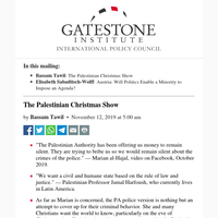The Palestinian Christmas Show