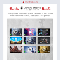 Learn video game creation with the Humble Unreal Engine Game Development Bundle!