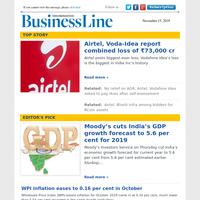 Airtel, Voda-Idea report combined loss of ₹73,000 cr
