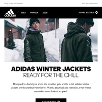 adidas winter jackets - Ready for the Chill