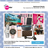 Wowchers for you: Secret Santa Mystery Deal  | 7"|200|200|?|2e64f6d541ff6c1871b5d122302384bc|False|UNLIKELY|0.3219684064388275