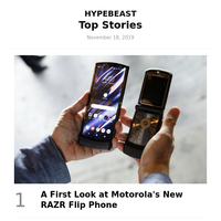 A First Look at Motorola's New RAZR Flip Phone